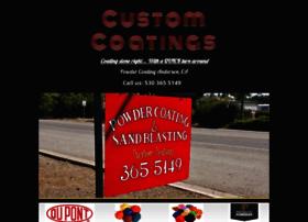 Customcoatings.co thumbnail