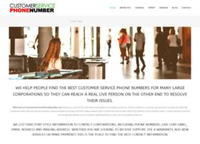 Customerservicephonenumber.net thumbnail