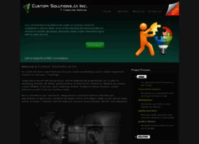 Customsolutions.ca thumbnail