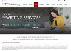 Customwriter.co.uk thumbnail