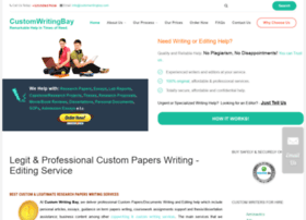 Customwritingbay.com thumbnail