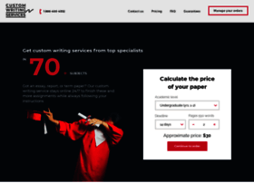 Customwritingservice.com thumbnail