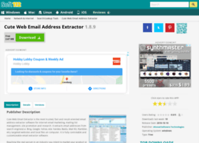 Cute-web-email-address-extractor.soft112.com thumbnail