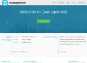 Cyanogenmod.org thumbnail