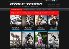Cycleteknix.co.za thumbnail