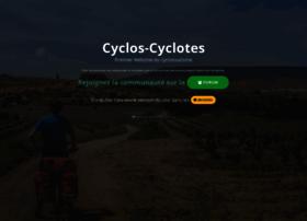 Cyclos-cyclotes.org thumbnail