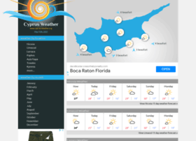 Cyprus-weather.org thumbnail