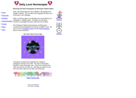 Daily-love-horoscope.com thumbnail