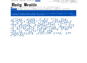 Dailybraille.co.uk thumbnail