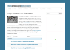 Dailycrosswordsolver.com thumbnail