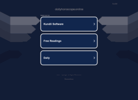 Dailyhoroscope.online thumbnail