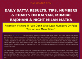 mumbai guess matka www sata number matka king at website