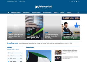 Dailynewshunt.in thumbnail