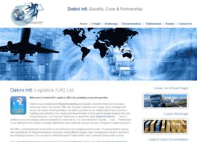 Dakini-logistics.co.uk thumbnail