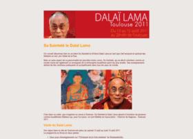 Dalailama-toulouse2011.fr thumbnail