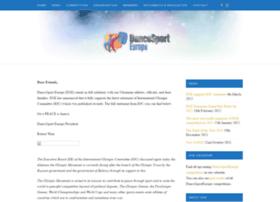 Dancesporteurope.org thumbnail