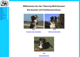 Dancingwolf.de thumbnail