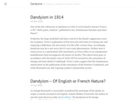 Dandysme.eu thumbnail
