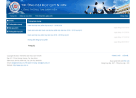 Daotao.qnu.edu.vn thumbnail