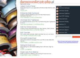 Darmoweskryptyphp.pl thumbnail