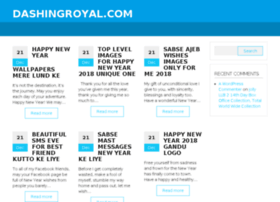 Dashingroyal.com thumbnail