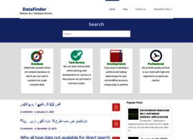 Datafinder.xyz thumbnail