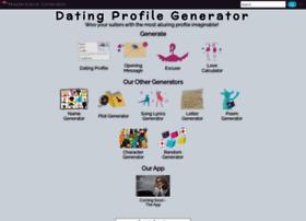 Dating-profile-generator.org.uk thumbnail
