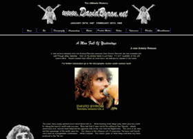 Davidbyron.net thumbnail