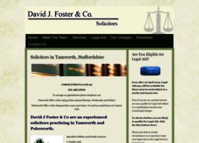 Davidjfostersolicitors.co.uk thumbnail