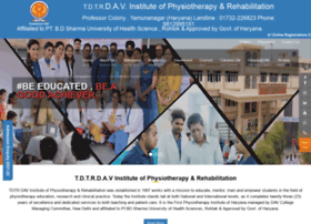 Davphysiotherapy.org thumbnail