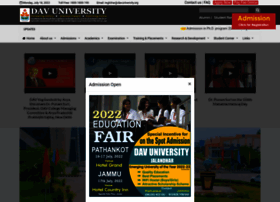 Davuniversity.org thumbnail