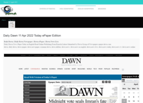 Dawn.epapers.pk thumbnail