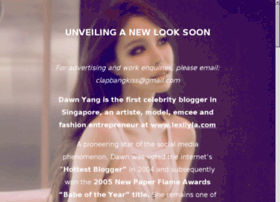 Dawn Yang 's Blog ( NickName : ClapBangKiss ) - Singapore 's Hottest