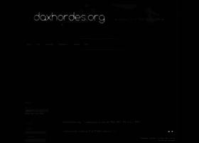 Daxhordes.org thumbnail