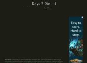 Days2die.info thumbnail