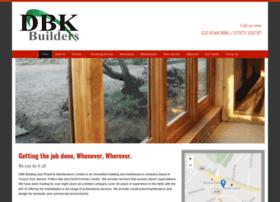 Dbkbuilders.co.uk thumbnail