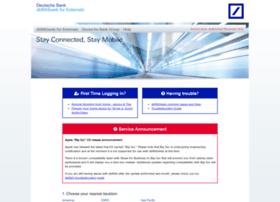 Dbrasweb Ext Db Com At Wi Dbrasweb For Externals Deutsche Bank