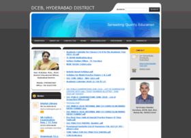 Dcebhyderabad.webnode.in thumbnail