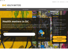 Dchealthmatters.org thumbnail