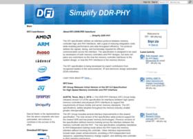 Ddr-phy.org thumbnail