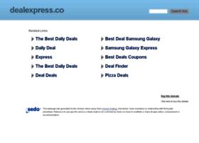 Dealexpress.co thumbnail