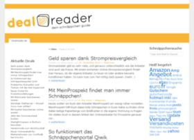 Dealreader.de thumbnail