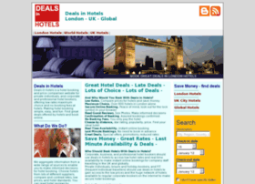 Dealsinhotels.co.uk thumbnail