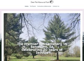 Dearpetmemorialpark.net thumbnail