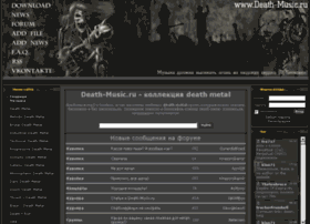 Death-music.ru thumbnail
