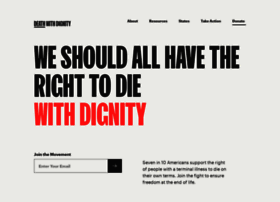 Deathwithdignity.org thumbnail