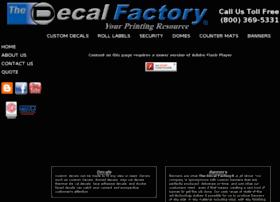 Decalfactory.bz thumbnail