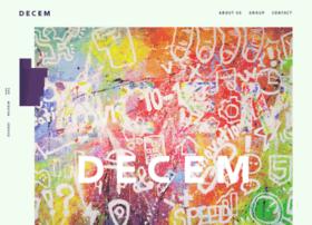 Decem.co.jp thumbnail