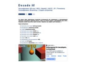 Decodeit.ru thumbnail