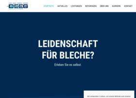 Deeg-bleche.de thumbnail